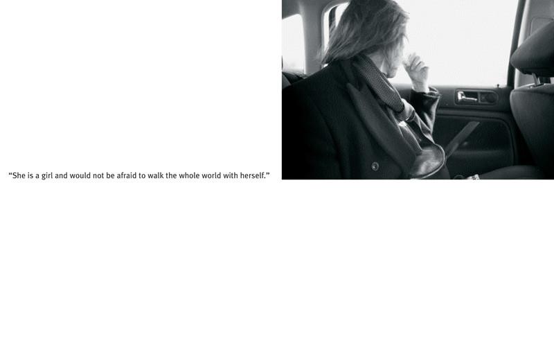 Angela Grauerholz, La flâneuse (extraits). © Tous droits reservés