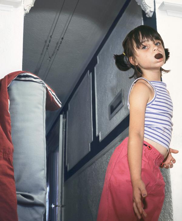Bettina Hoffmann, Sans titre (de la série Sweets), impression à jet d'encre, papier sans acide, 2004. © Bettina Hoffmann
