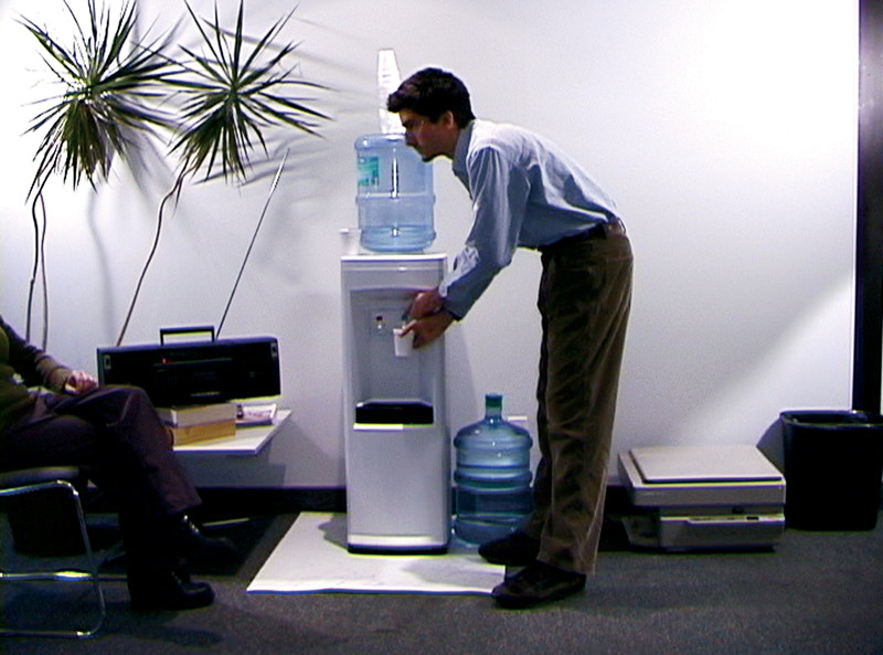 Adad Hannah , Water Cooler, 2002, excerpts from long-exposure videos. Photos: courtesy of the artist. © Adad Hannah