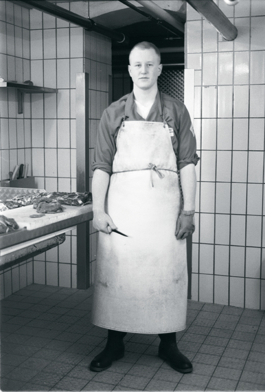 Fiona Tan, Countenance (Butcher), extraits d'une installation vidéo, 2001. © Fiona Tan