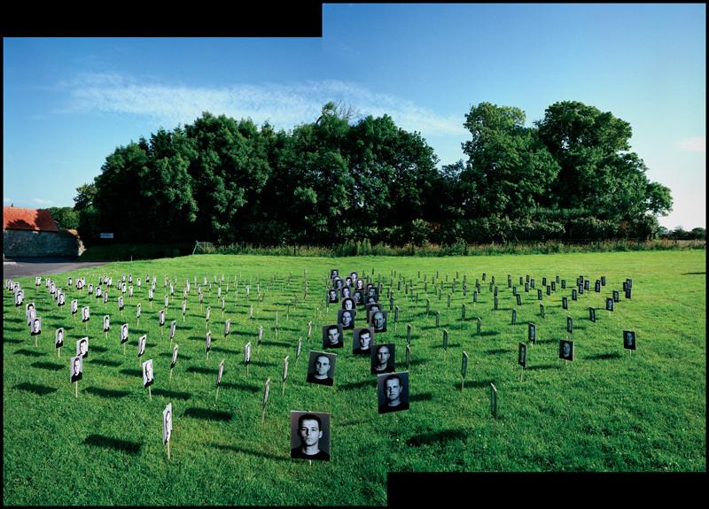 Bertrand Carrière , Jubilee (Varengeville), 2002, installation views. © Bertrand Carrière
