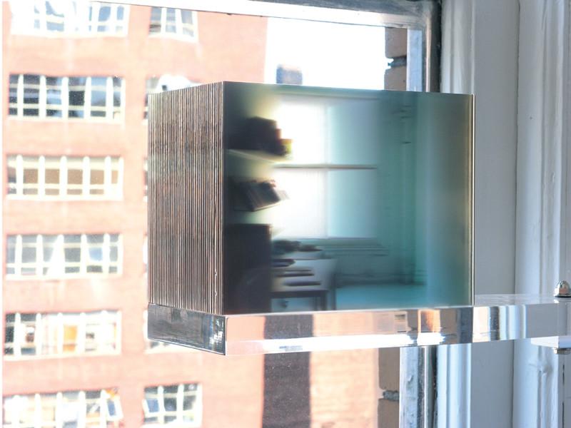 Karen Henderson, 40 Consecutive Photographs of Here, 2005, Impressions sur feuilles d'acrylique transparentes, photo : Paul Litherland. © Karen Henderson