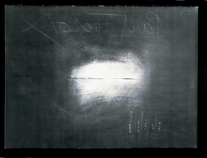 Paul Lacroix, Sans titre (détail), 2000, photogramme noir et blanc. © Paul Lacroix