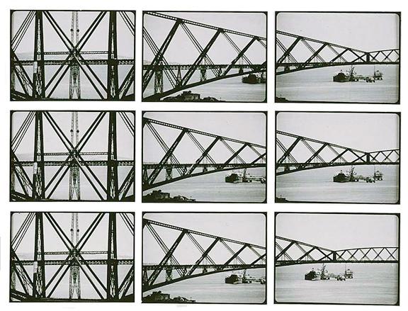 Dieter Appelt, Metric Space (details), 2004, tableau of 312 gelatin silver prints, 150 x 400 cm, collection Canadian Centre for Architecture, Montréal. © Dieter Appelt