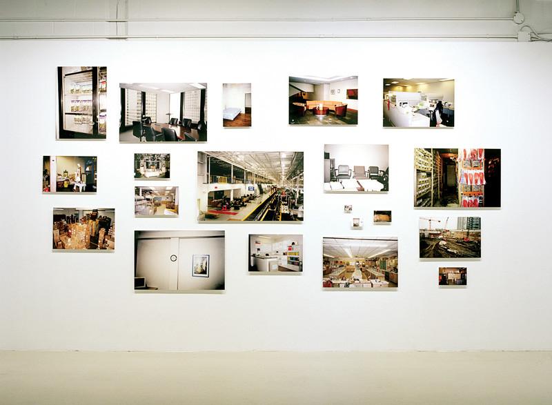 Sean Reuther, Statistical Landscape, 2004, 20 tirages, jet d'encre (encres archives). Mercer Union Gallery, Toronto