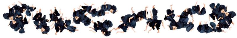 Annie Baillargeon, Batailles orchestrées. De la série Gymnastique signalétique, épreuves jet d'encre, 52 x 406 cm, 2004. © Annie Baillargeon