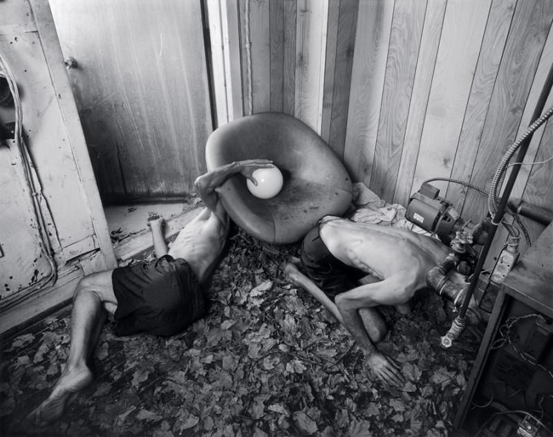 Matthieu Brouillard, Klepp, 2006, 152 x 112 cm, tirages numériques lambda. © Matthieu Brouillard