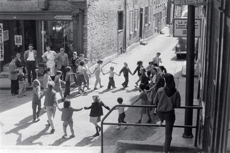 Gabor Szilasi, Québec City, 1958. © Gabor Szilasi