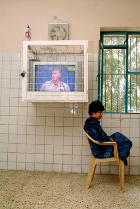 Rita Leistner, Rashad Psychiatric Hospital, Baghdad, April 15, 2004, chromogenic print, 2004, courtesy of the artist. © Rita Leistner