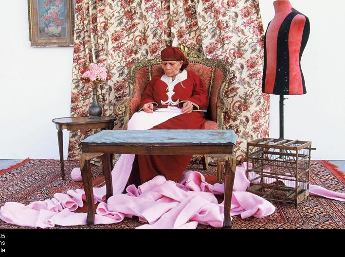 Hala Elkoussy, Peripheral Stories, vidéo numérique de 28 minutes, 2005, photo de production : Graham Waite. © Hala Elkoussy