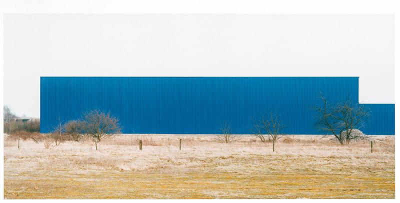 Franck Breuer, Untitled, Venio NL, 1997, Courtesy Fiedler Contemporary, Cologne, colour prints 47 x 101 cm. © Franck Breuer