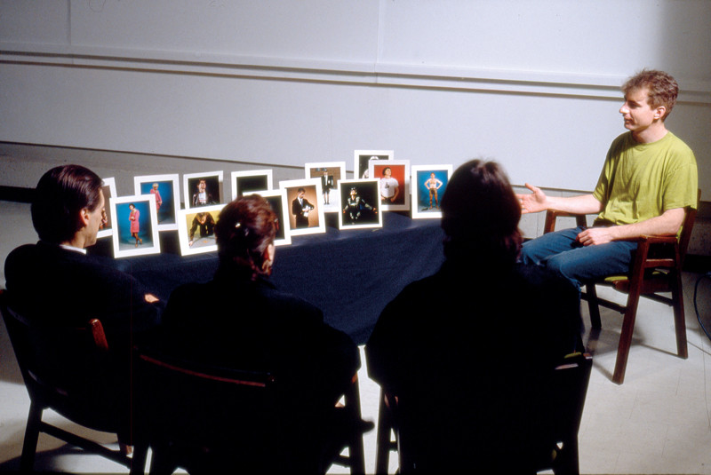 Paul Litherland, Souvenirs, Installation view chromogenic colour photographs 1993 – reprinted 2006. Assistants for photography sessions: Cyndra MacDowall, Wendy Coburn, Harry Symons, Mark Vatnsdal, Donald Goodes © Paul Litherland