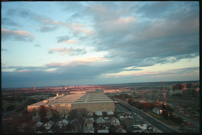 Alain Declercq, Sheraton Hotel, Pentagon West-South West, épreuve photographique, 30 x 40 cm, 2005. © Alain Declercq