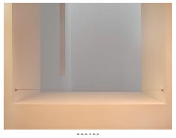Michael Schreier, 20..10..05, 12..50..51, 29.2 x 38.1 cm, from the Interiors series, colour inkjet prints, 2006, courtesy Patrick Mikhail Gallery. © Michael Schreier