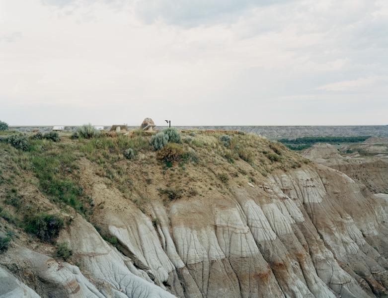 Jessica Auer, Dinosaur Provincial Park, Alberta, 2005, 101,6 x 132,1 cm. © Jessica Auer