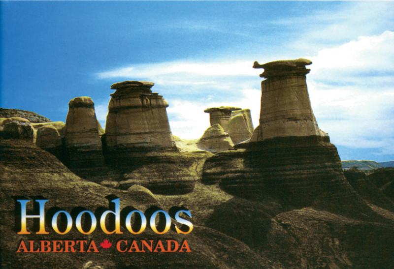Mitch Robertson, Original Copy : Hoodoos Postcard, 2002-2003 and Chromogenic print. © Mitch Robertson