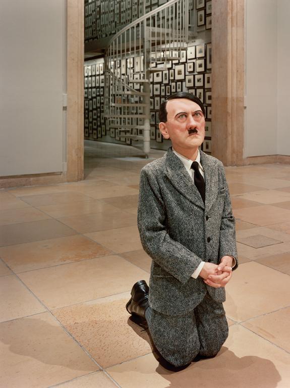 Maurizio Cattelan, Him, 2002, installation Haus der Kunst, Munich. © Maurizio Cattelan
