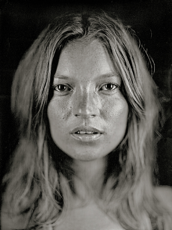 Chuck Close, Kate #14, 2005, 55,88 x 43,18 cm, permission de Adamson Editions. @ Chuck Close