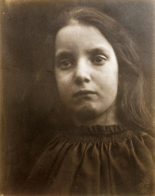 Julia Margaret Cameron, Charlotte Norman, 1865, 34,6 x 28cm. @ Julia Margaret Cameron
