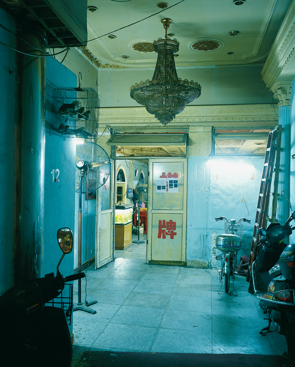 Greg Girard, Former Cinema Lobby, #11 Jianguo Dong Lu, 2006, image courtesy Monte Clark Gallery. © Greg Girard