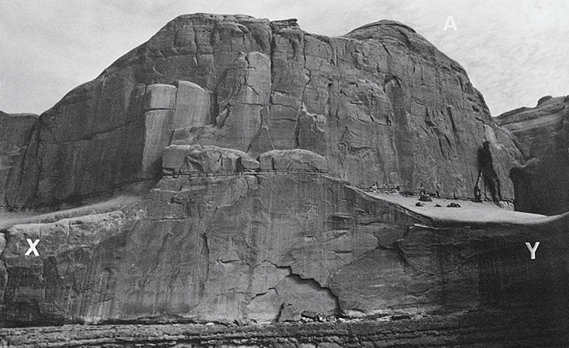 Charles Gagnon, Myth III Untitled/Monument Valley Utah, 1998, silver print 40.5 x 50.5 cm. © Charles Gagnon