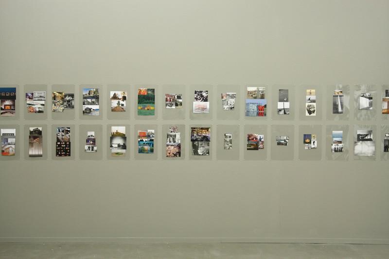 Album VI, 2007. Montage d'images sous plastique laminé, 162 panneaux 44.5 cm x 29 cm chaque panneau, avec la permission de Birch Libralato, Toronto. © Luis Jacob