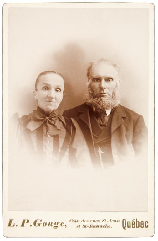 L.-Pierre Gouge, Portrait de couple, 1897-1910, 16,4 cm x 10,7cm. © L.-Pierre Gouge