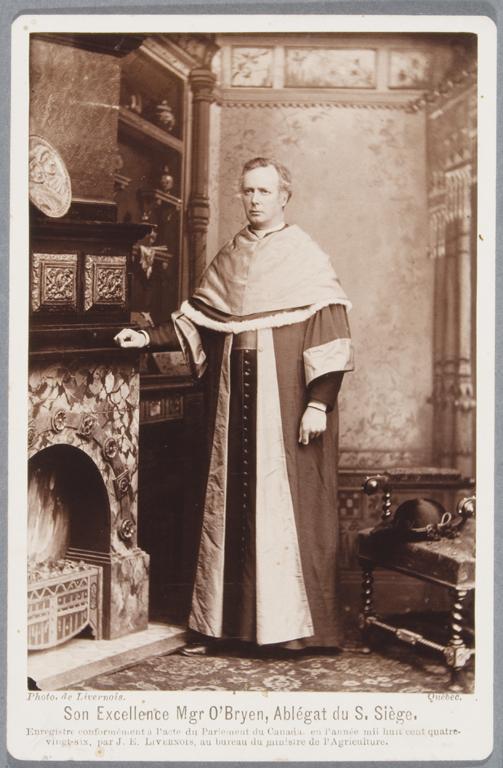 Jules-Ernest Livernois, Monseigneur John O'Brien, 1875-1879 16,5 cm x 10,8 cm. © Jules-Ernest Livernois
