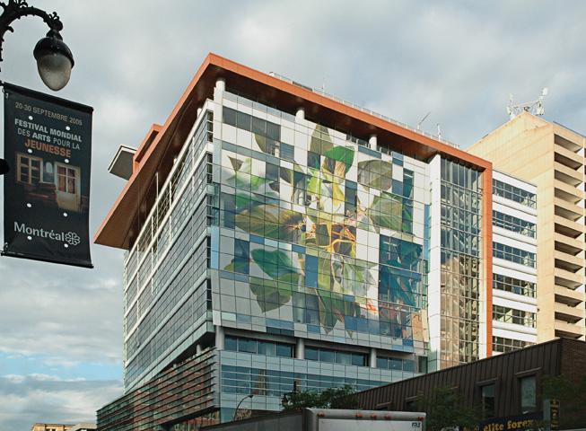 Nicolas Baier, Sans titre, 2003, matériaux mixtes, superficie de 1829 m2, programme d'intégration de l'art à l'architecture du Québec, Université Concordia, Montréal. © Nicolas Baier© Thomas Kneubühler