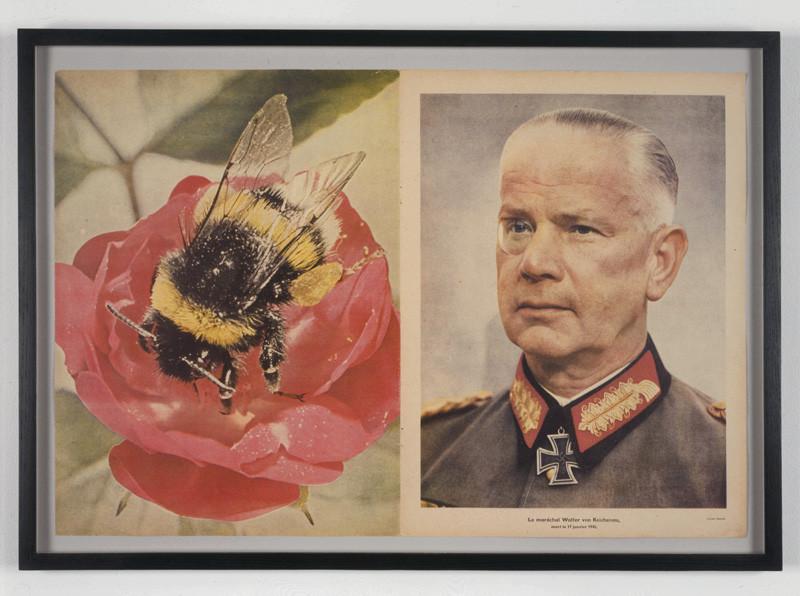 Images : Christian Boltanski, Signal, 1992, collage, 43,18 x 58,42 x 2,54 cm, courtesy of Marian Goodman Gallery, New York/Paris, photo : Tom Powel. © Christian Boltanski / SODRAC (2009)