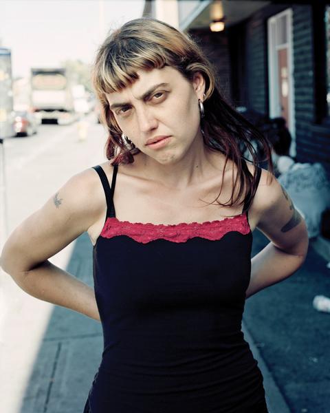 Tony Fouhse, Morgan, Ottawa, 2008, from the series User : Women, digital print, 76 x 102 cm.
