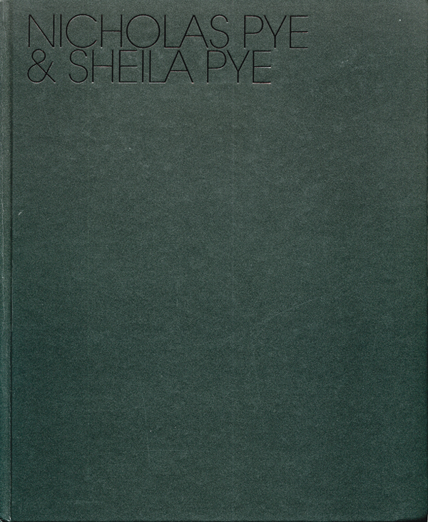 Nicholas Pye & Sheila Pye. Toronto: Artcore/Fabrice Marcolini, 2007, 51 pp., col. ills. Text in English.