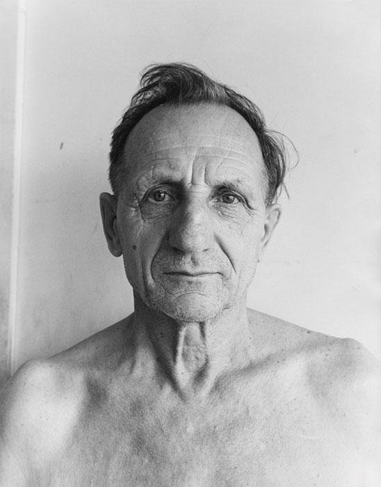 Gabor Szilasi, Mihaly Makai, Rouyn, 1979, de la série Portraits (1978-1980), épreuve à la gélatine argentique © Gabor Szilasi