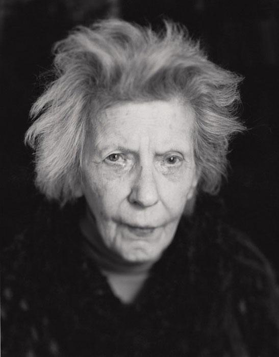 Gabor Szilasi, Isabel Lindsay, Montréal, 1991, de la série Portraits Polaroïd/ N Type 55, épreuve à la gélatine argentique. © Gabor Szilasi