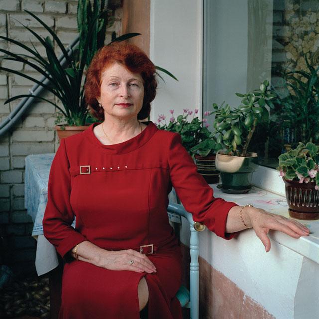 Olga Chagaoutdinova, Valentina, 2005, de la série Russian Pictures, épreuve chromogénique, 61 x 61 cm. © Olga Chagaoutdinova