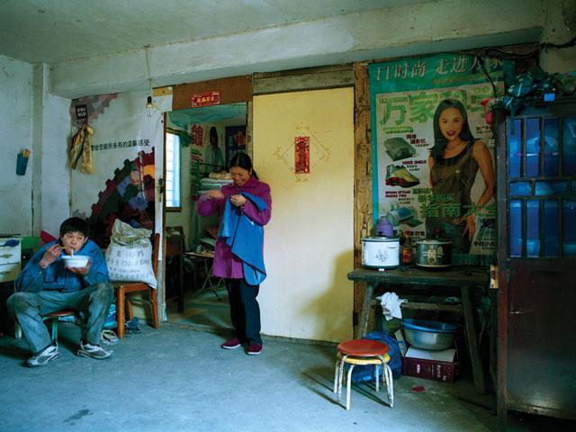 Hu Yang, Yang Weijin (du Sichuan, ouvrier du bâtiment). © Hu Yang