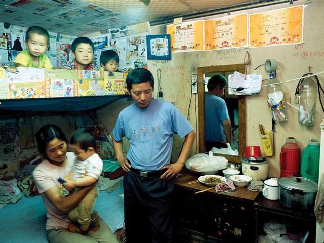 Hu Yang, Wei Yufang (de Shandong, marchand de fruits ambulant). © Hu Yang