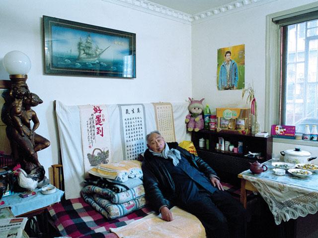Hu Yang, Tang Jinsheng (de Shanghai, travailleur à la retraite). © Hu Yang