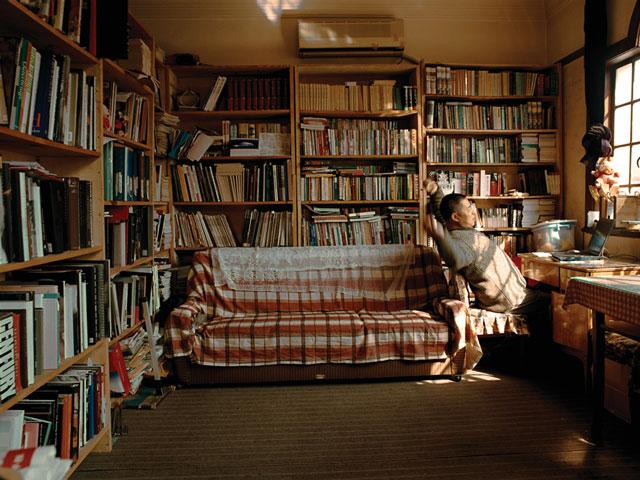 Hu Yang, Lin Lu (de Shanghai, maître de conférences à l'université). © Hu Yang