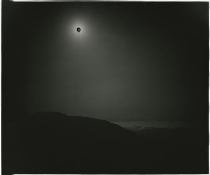 Chris McCaw, Sunburned GSP#255 (SantaCruzMtns/Fog), unique silver gelatin silver paper negative, 51 x 61 cm, courtesy of Michael Mazzeo Gallery. © Chris McCaw