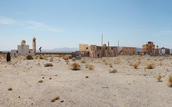 Emanuel Licha, Bagdads, 2009, quadriptyque photographique / photographic quadriptych, épreuves numériques couleur / digital colour prints, 67 x 107 cm ch. / each