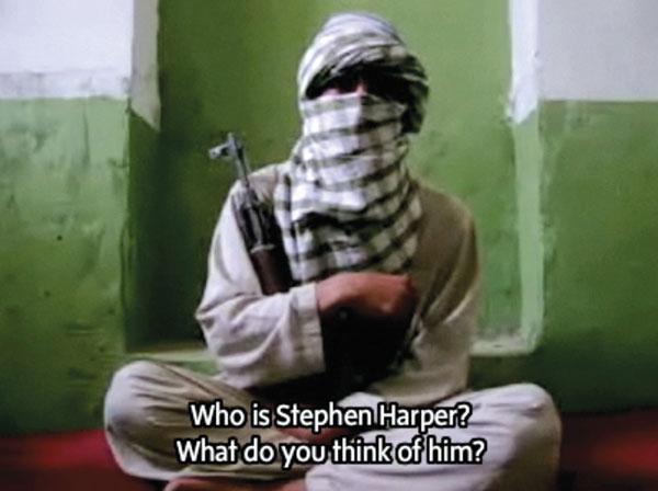 Graeme Smith, Talking to the Taliban, 2008, video, permission de / courtesy of The Globe and Mail. © Tous droits réservés - Pour voir les vidéos / to see the videos: http://www.theglobeandmail.com/talkingtothetaliban/