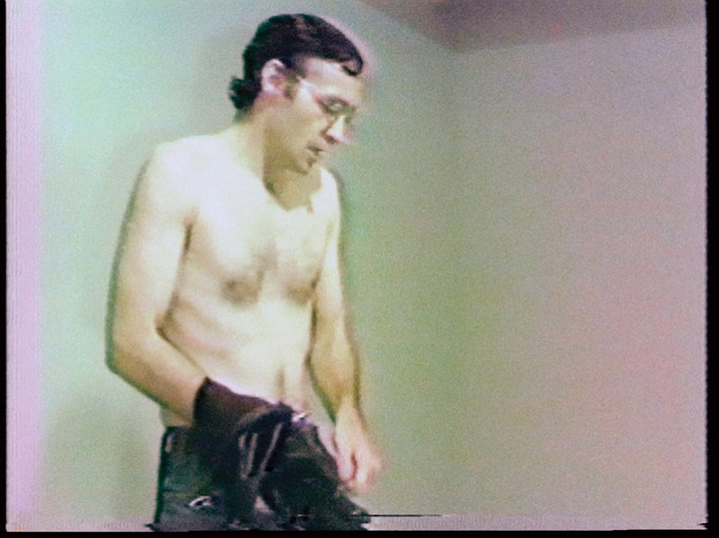 "Tim Clark, A Reading of ""On Obedience and Discipline"" from The Imitation of Christ, by Thomas a Kempis, 1979, performance. © Tim Clark"