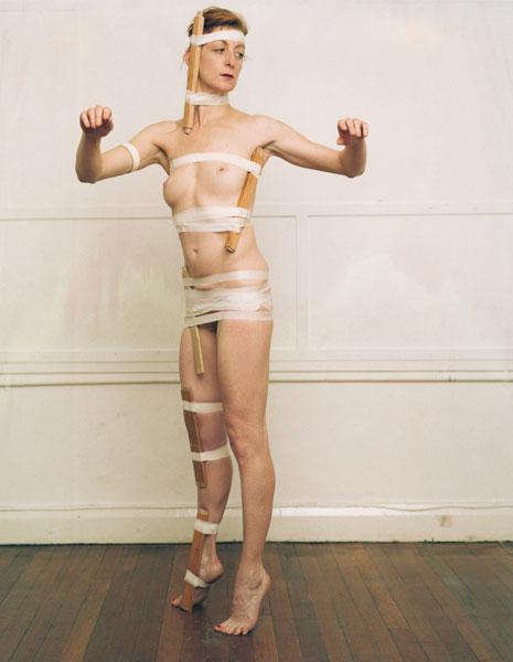 La Ribot & Manuel Vason, Collaboration #1, Londres 2000, épreuve chromogénique/ c-type print, 89 x 114 cm