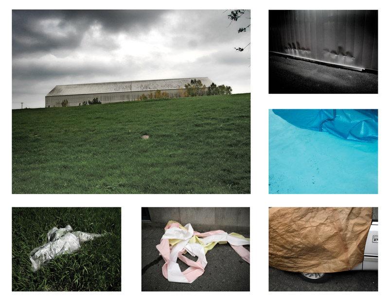 Alain Pratte, Attractions, 2009, épreuves à la gélatine argentique et impressions jet d'encre / gelatin silver prints and inkjet prints, various dimensions. © Alain Pratte