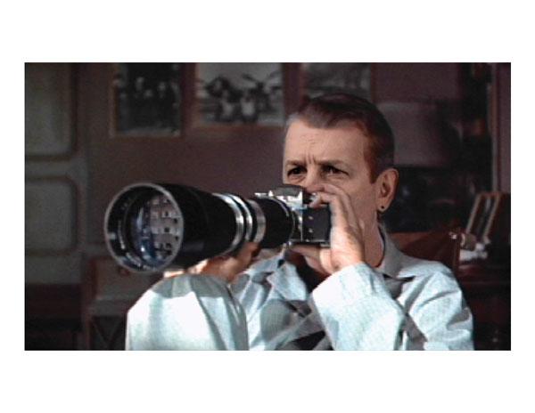 Chuck Samuels, Chuck Goes to the Movies (détails / details), 2009, impressions jet d'encre / inkjet prints, 20,3 x 25,4 cm. © Chuck Samuels