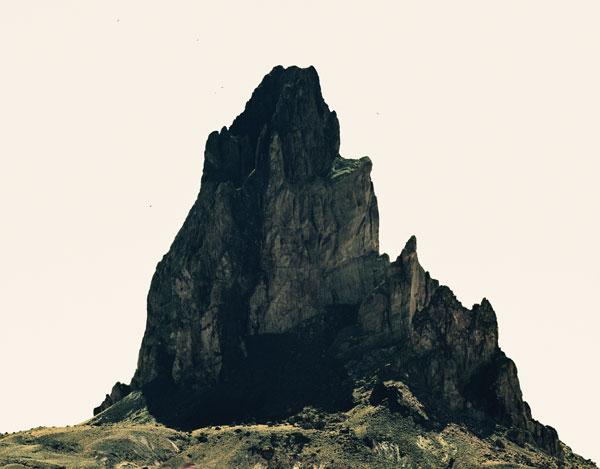 Matthew Porter, Dark Mountain, 2009, archival pigment print, 97 x 124 cm, courtesy of M + B. © Matthew Porter