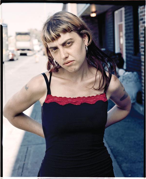 Tony Fouhse, Morgan, 2008, de la série / from the series user Portraits of Crack Addicts, 2007-2010, impression numérique / digital prints, 56 x 70 cm ou 56 x 56 cm. © Tony Fouhse