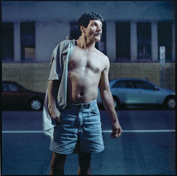 Tony Fouhse, Yvon, 2007, de la série / from the series user Portraits of Crack Addicts, 2007-2010, impression numérique / digital prints, 56 x 70 cm ou 56 x 56 cm. © Tony Fouhse