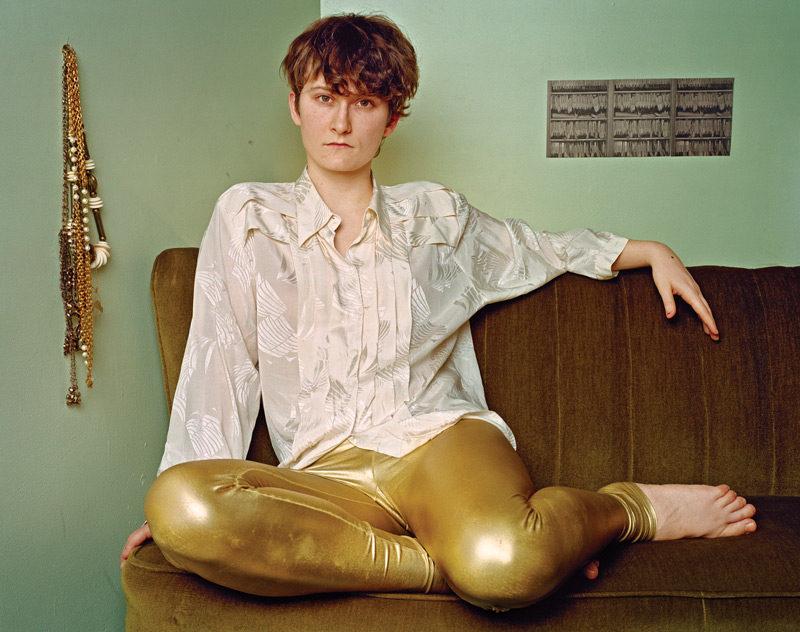 JJ Levine, Johnny Forever, 2010, de la série / from the series Queer Portraits, 2006-2010, épreuve chromogénique / c-prints, 76 x 102 cm ou 50 x 60 cm. © JJ Levine